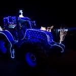 Tractor Kerst Run 2014: 3de plaats