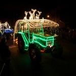 Tractor Kerst Run 2014: 2de plaats