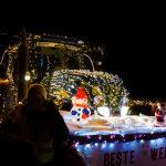 Tractor Kerstrun 2017 voor vertrek